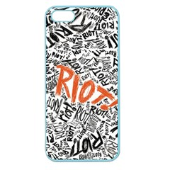 Paramore Is An American Rock Band Apple Seamless iPhone 5 Case (Color)