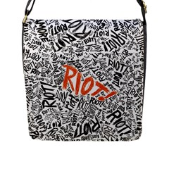 Paramore Is An American Rock Band Flap Messenger Bag (l)