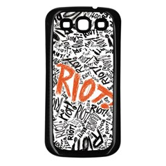 Paramore Is An American Rock Band Samsung Galaxy S3 Back Case (Black)