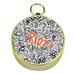 Paramore Is An American Rock Band Gold Compasses