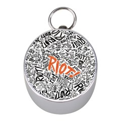 Paramore Is An American Rock Band Mini Silver Compasses