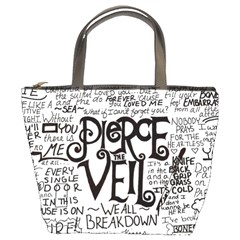 Pierce The Veil Music Band Group Fabric Art Cloth Poster Bucket Bags