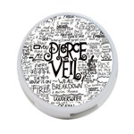 Pierce The Veil Music Band Group Fabric Art Cloth Poster 4-Port USB Hub (One Side) Front