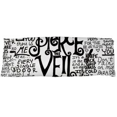 Pierce The Veil Music Band Group Fabric Art Cloth Poster Body Pillow Case Dakimakura (two Sides)