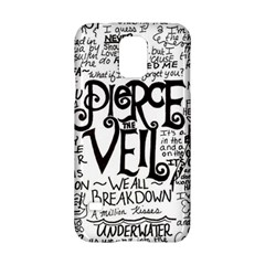 Pierce The Veil Music Band Group Fabric Art Cloth Poster Samsung Galaxy S5 Hardshell Case