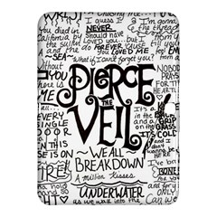 Pierce The Veil Music Band Group Fabric Art Cloth Poster Samsung Galaxy Tab 4 (10.1 ) Hardshell Case