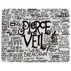 Pierce The Veil Music Band Group Fabric Art Cloth Poster Jigsaw Puzzle Photo Stand (Rectangular)