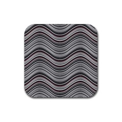 Abstraction Rubber Square Coaster (4 pack)