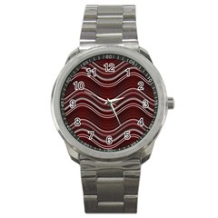 Abstraction Sport Metal Watch