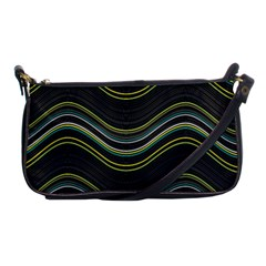 Abstraction Shoulder Clutch Bags