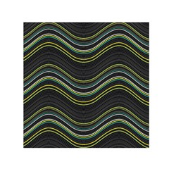 Abstraction Small Satin Scarf (Square)