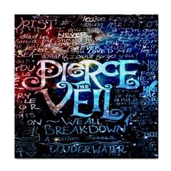 Pierce The Veil Quote Galaxy Nebula Tile Coasters