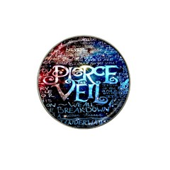 Pierce The Veil Quote Galaxy Nebula Hat Clip Ball Marker (4 pack)