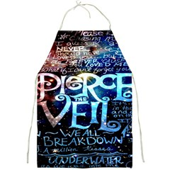 Pierce The Veil Quote Galaxy Nebula Full Print Aprons
