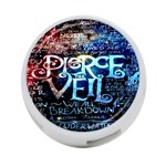 Pierce The Veil Quote Galaxy Nebula 4-Port USB Hub (Two Sides)  Front