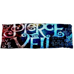 Pierce The Veil Quote Galaxy Nebula Body Pillow Case Dakimakura (two Sides)
