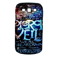Pierce The Veil Quote Galaxy Nebula Samsung Galaxy S III Classic Hardshell Case (PC+Silicone)