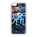 Pierce The Veil Quote Galaxy Nebula Apple iPhone 5C Seamless Case (White) Front