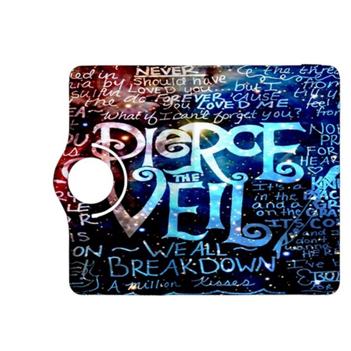 Pierce The Veil Quote Galaxy Nebula Kindle Fire HDX 8.9  Flip 360 Case