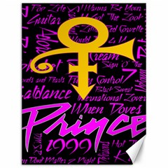 Prince Poster Canvas 12  x 16