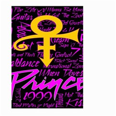 Prince Poster Large Garden Flag (two Sides)
