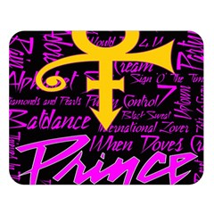 Prince Poster Double Sided Flano Blanket (Large)