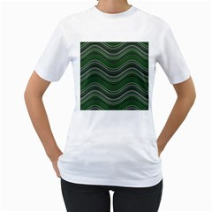 Abstraction Women s T-Shirt (White)