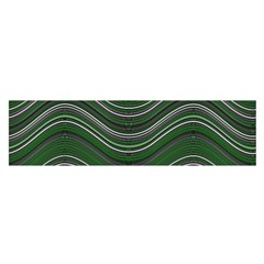Abstraction Satin Scarf (Oblong)