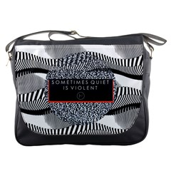 Sometimes Quiet Is Violent Twenty One Pilots The Meaning Of Blurryface Album Messenger Bags