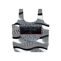 Sometimes Quiet Is Violent Twenty One Pilots The Meaning Of Blurryface Album Full Print Recycle Bags (S)