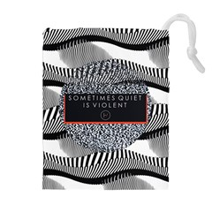 Sometimes Quiet Is Violent Twenty One Pilots The Meaning Of Blurryface Album Drawstring Pouches (Extra Large)