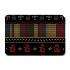 Tardis Doctor Who Ugly Holiday Plate Mats