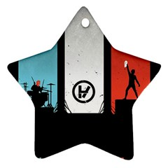 Twenty One 21 Pilots Ornament (Star)