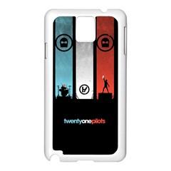 Twenty One 21 Pilots Samsung Galaxy Note 3 N9005 Case (White)