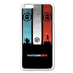 Twenty One 21 Pilots Apple iPhone 6 Plus/6S Plus Enamel White Case Front