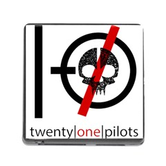 Twenty One Pilots Skull Memory Card Reader (square)
