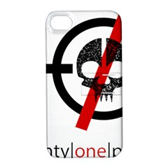 Twenty One Pilots Skull Apple Iphone 4/4s Hardshell Case With Stand