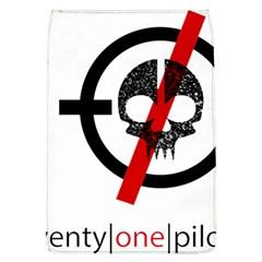 Twenty One Pilots Skull Flap Covers (L)