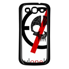Twenty One Pilots Skull Samsung Galaxy S3 Back Case (Black)