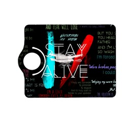 Twenty One Pilots Stay Alive Song Lyrics Quotes Kindle Fire HD (2013) Flip 360 Case