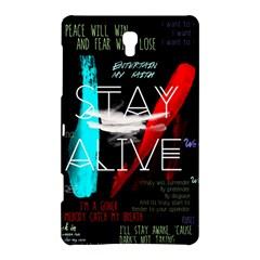 Twenty One Pilots Stay Alive Song Lyrics Quotes Samsung Galaxy Tab S (8.4 ) Hardshell Case