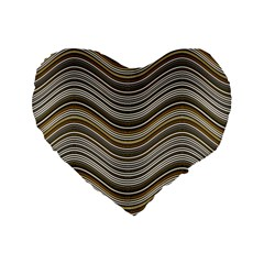 Abstraction Standard 16  Premium Heart Shape Cushions