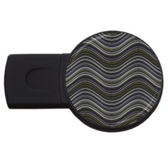 Abstraction USB Flash Drive Round (1 GB)