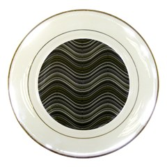 Abstraction Porcelain Plates