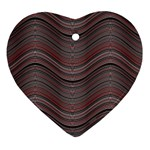 Abstraction Heart Ornament (Two Sides) Front