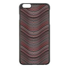 Abstraction Apple iPhone 6 Plus/6S Plus Black Enamel Case