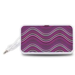 Abstraction Portable Speaker (White)