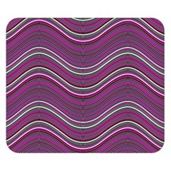 Abstraction Double Sided Flano Blanket (Small)