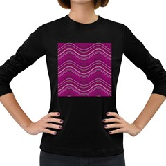 Abstraction Women s Long Sleeve Dark T-Shirts