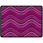 Abstraction Double Sided Fleece Blanket (Large)  80 x60 Blanket Front
